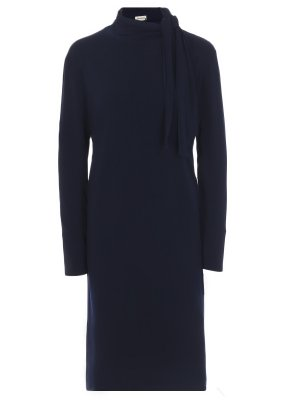 Платье с воротом-аскот BY MALENE BIRGER