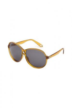 Солнцезащитные очки Givenchy. Цвет: желтый