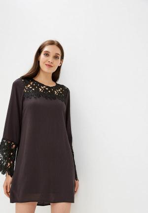 Платье Billabong OPEN HORIZON DRESS. Цвет: черный