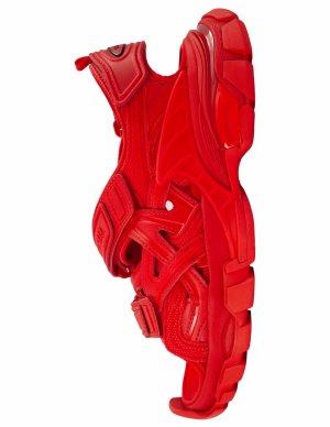 Красные сандалии Track Balenciaga