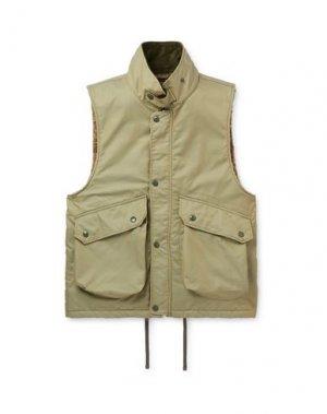 Куртка ENGINEERED GARMENTS. Цвет: светло-зеленый