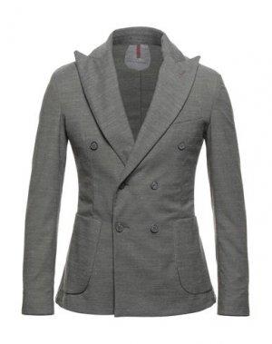 Пиджак PRIMO EMPORIO. Цвет: серый