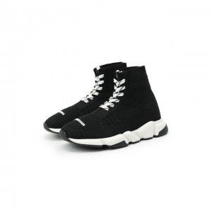 Ботинки спортивные Balenciaga. Цвет: чёрный