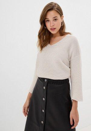 Пуловер Ostin O'stin. Цвет: бежевый