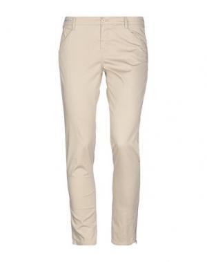 Повседневные брюки PT01. Цвет: бежевый