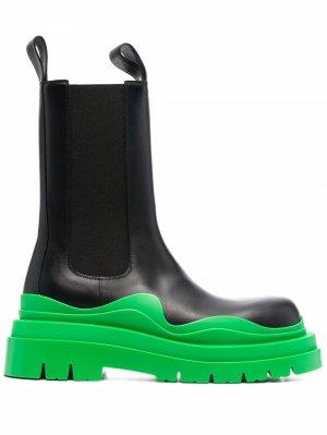Ботинки Tire на массивной подошве Bottega Veneta. Цвет: черный