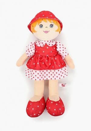 Игрушка мягкая Stip Кукла Снежана. Цвет: красный