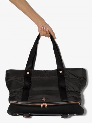 Спортивная сумка Icon Sweaty Betty. Цвет: черный