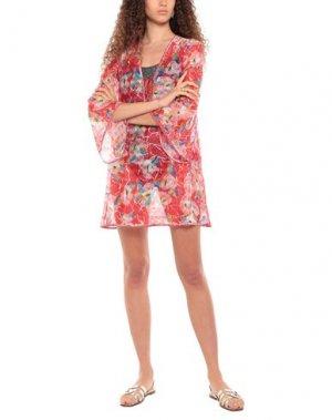 Пляжное платье MISSONI MARE. Цвет: красный