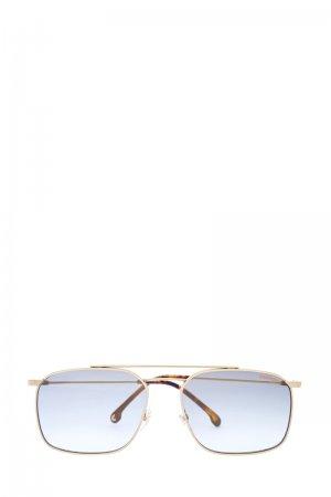 Очки прямоугольной формы с гравированным микро-узором на оправе CARRERA (sunglasses). Цвет: none