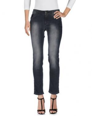 Джинсовые брюки ANNA RACHELE JEANS COLLECTION. Цвет: черный