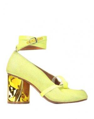 Туфли MAISON MARGIELA. Цвет: желтый