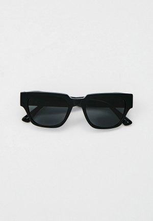 Очки солнцезащитные Giorgio Armani AR8147 500187. Цвет: черный