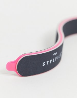 S-образная пилочка для ногтей StylFile Curved 3 в 1-Бесцветный StylPro