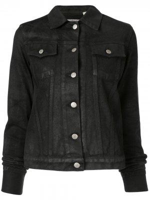 Джинсовая куртка 1999-го года Helmut Lang Pre-Owned. Цвет: черный