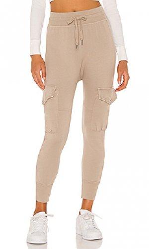 Спортивные брюки NSF. Цвет: серо-коричневый