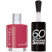 Лак для ногтей 60 Seconds Super Shine Nail Polish 8 мл (различные оттенки) - 271 Jet Setting Rimmel