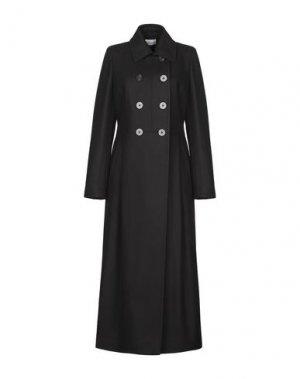 Пальто MANUELA CONTI. Цвет: черный