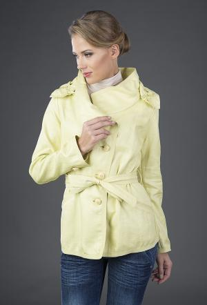 Женская ветровка Visconf желтого цвета Visconf/Violanti. Цвет: желтый