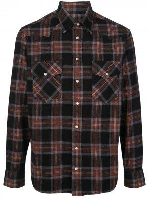Рубашка Western Gitman Vintage. Цвет: черный