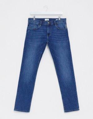 Синие узкие джинсы -Синий Esprit