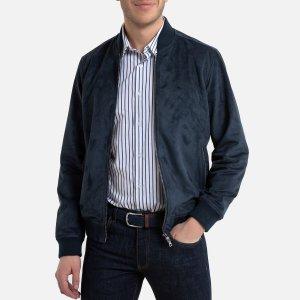 Куртка-бомбер LaRedoute. Цвет: синий