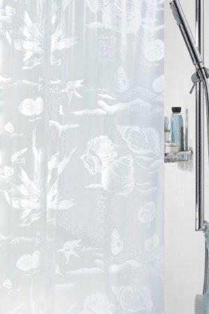 Штора для ванной Riff Spirella. Цвет: белый