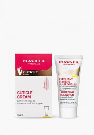 Скраб для рук Mavala и ногтей, Nail Scrub Mask, 15 мл. Цвет: белый