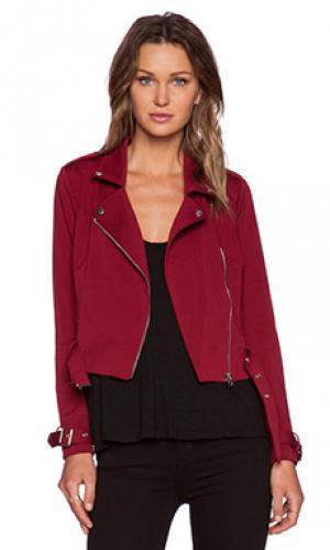 Мото куртка perfect match NBD. Цвет: красный