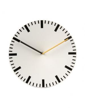 Настенные часы HAY. Цвет: белый