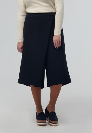 Юбка-брюки W&B. Цвет: черный