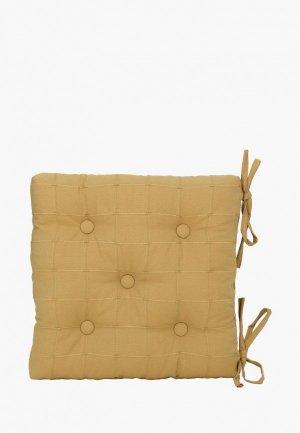 Подушка на стул Kauffort Kimberly. Цвет: желтый