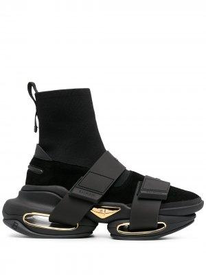 Высокие кроссовки B-Bold Balmain. Цвет: черный