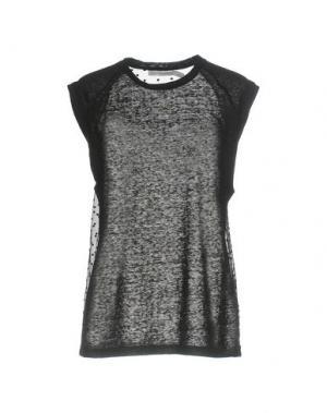 Короткое платье CLOVER CANYON. Цвет: стальной серый