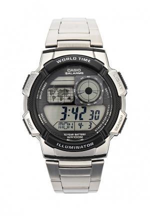 Часы Casio Collection AE-1000WD-1A. Цвет: серебряный