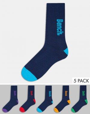 5 пар носков -Многоцветный Bench