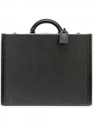 Портфель President pre-owned Louis Vuitton. Цвет: черный