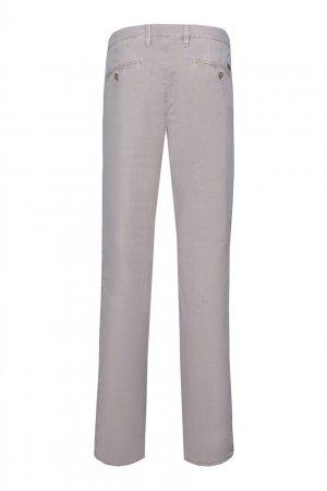 Прямые серые брюки Baldessarini. Цвет: бежевый