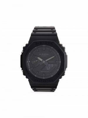 Наручные часы GA2100-1A1ER 48.5 мм G-Shock. Цвет: черный