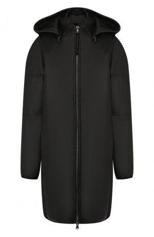Пальто с капюшоном Roque. Цвет: черный