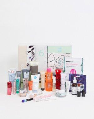 Адвент-календарь на 24 дней с набором средств по уходу за лицом и телом ASOS-Бесцветный Beauty Extras