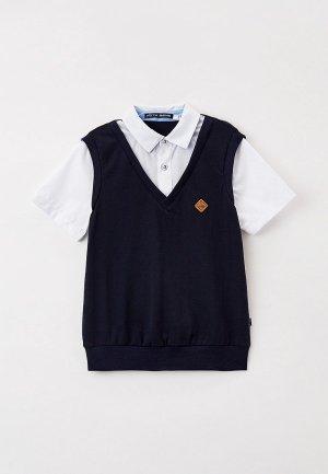 Пуловер Nota Bene. Цвет: синий