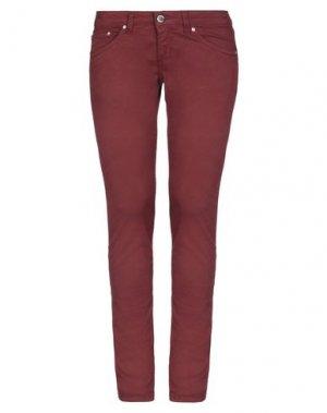 Повседневные брюки CAMOUFLAGE AR AND J.. Цвет: красно-коричневый
