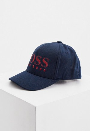 Бейсболка Boss Cap-Chain. Цвет: синий