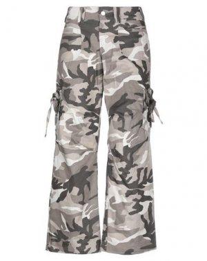 Повседневные брюки B2. Цвет: хаки