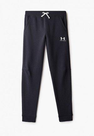 Брюки спортивные Under Armour UA Cotton Fleece Joggers. Цвет: черный