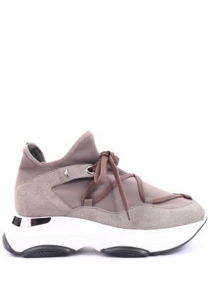 Комбинированные кроссовки Alberto Guardiani. Цвет: серый