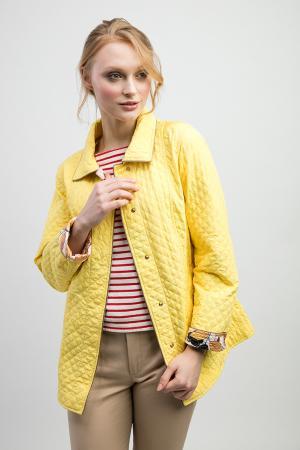 Итальянская женская ветровка для весны J.N.C.. Цвет: желтый