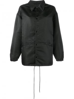 Куртка-бомбер Balenciaga. Цвет: чёрный