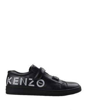 Кеды и кроссовки KENZO. Цвет: черный